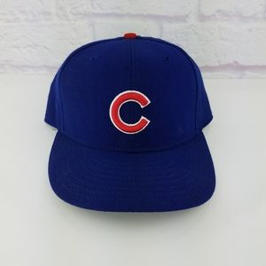 vintage 90's MLB Authentic Chicago Cub Fitted Hat